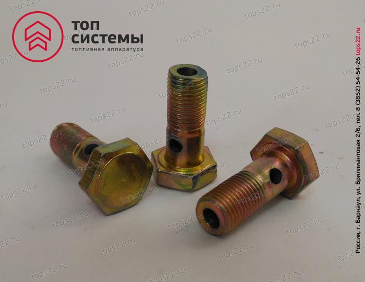 Болт топливный (М10х22х1)/ 36-1104787 под 1 трубку